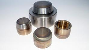 Otturatori per valvola a disco con riporto in stellite gr6